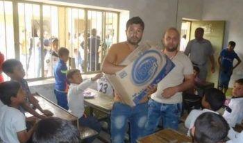 اعادة افتتاح مدرسة الشهيد نافع بن داوود في ايمن الموصل