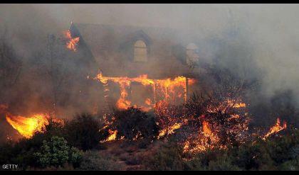 ارتفاع عدد قتلى حرائق كاليفورنيا.. والوضع سيستمر بالتفاقم