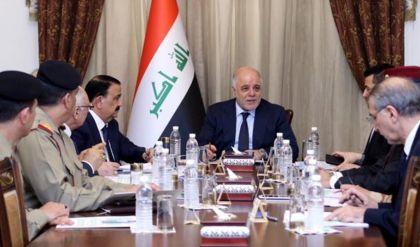العبادي يترأس اجتماع المجلس الوزاري للأمن لمناقشة احداث سوريا ومصر وعمليات الموصل