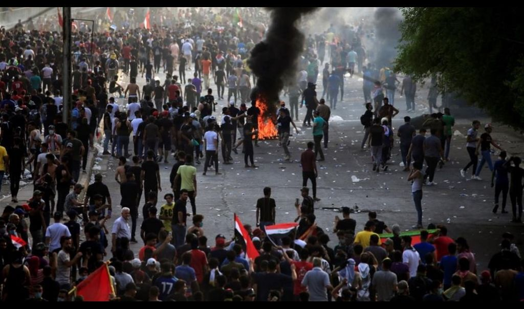 مفوضية حقوق الإنسان تعلن إحصائية القتلى والمصابين منذ انطلاق التظاهرات