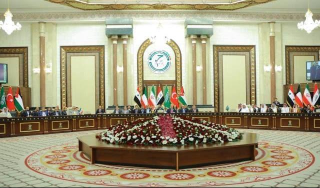 راديو الغد ينشر نص البيان الختامي لقمة بغداد لبرلمانات دول الجوار