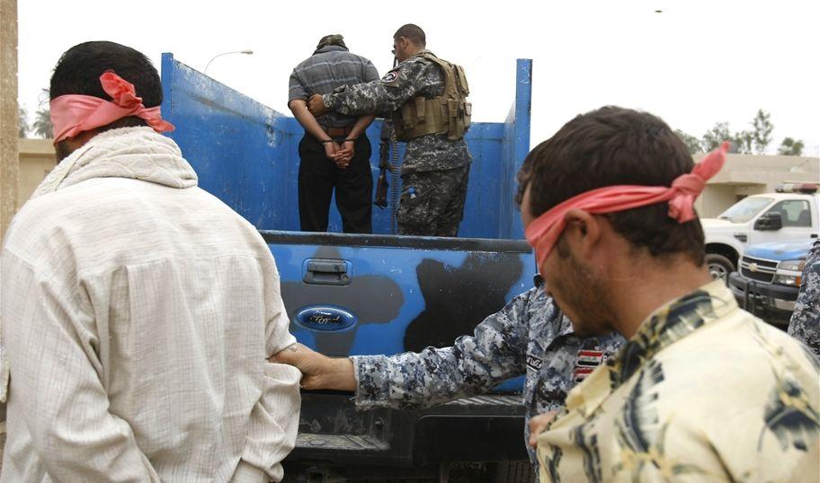 القبض على اثنين من العناصر الامنية لداعش في حمام العليل