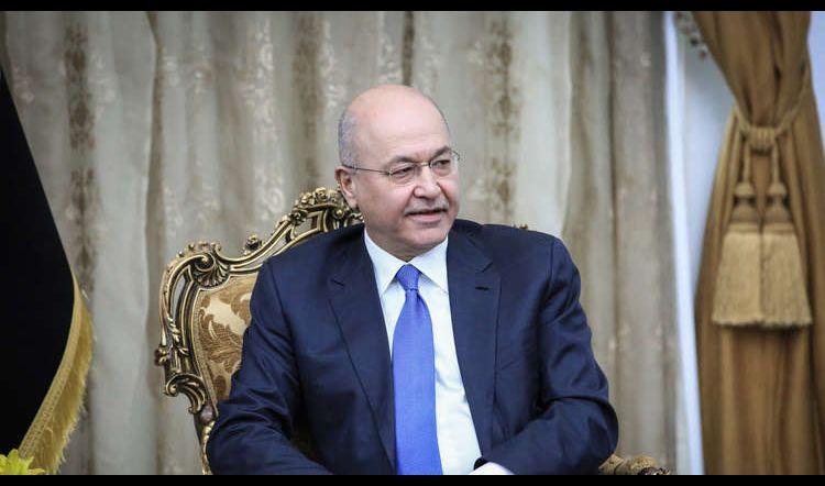 رئيس الجمهورية برهم صالح يؤكد أهمية الإسراع بحفظ الأدلة التي تدين