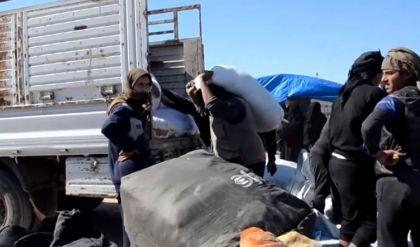 موجة جديدة من العائلات تغادر مخيم الهول