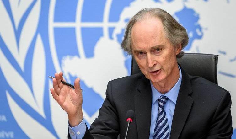 الموفد الأممي الى سوريا يدفع باتجاه تحقيق تقدم على خط التسوية السياسية
