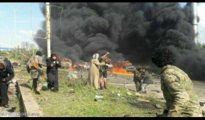 انفجار هائل يضرب اتفاق إجلاء مدنيين في سوريا