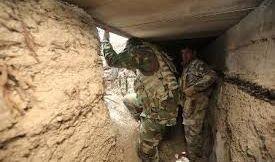 العثور على 7 انفاق لداعش وقتل إرهابيين اثنين في نينوى