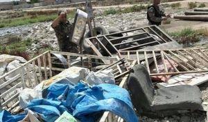 القبض على سارق عجلات الحمل القديمة في أيسر الموصل