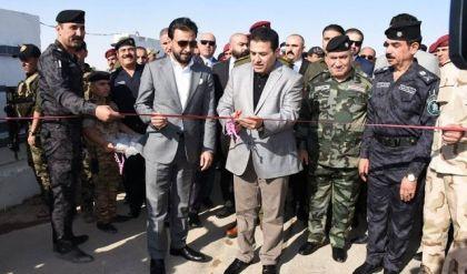 افتتاح طريق بغداد - عمان الدولي امام الحركة التجارية والمسافرين