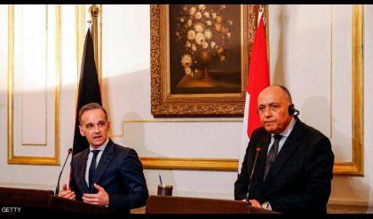مصر وألمانيا تؤكدان على رفض التدخلات في شؤون ليبيا
