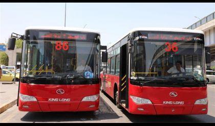 وزير النقل يعلن ارسال ٢٠ باص نقل لنينوى للعمل داخل المحافظة
