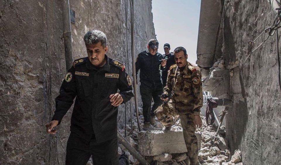 القوات العراقية تحرر الخاتونية والطوالب