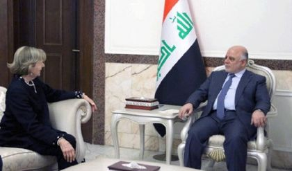 العبادي يستقبل رئيس مجلس الاعمال العراقي البريطاني ويؤكدان على تنشيط القطاع التجاري