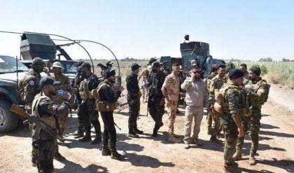 عناصر من داعش يهاجمون نقطة أمنية للحشد الشعبي في ديالى