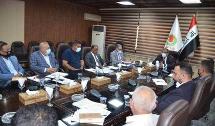 وزارة النفط العراقية تعيد تأهيل مصفى