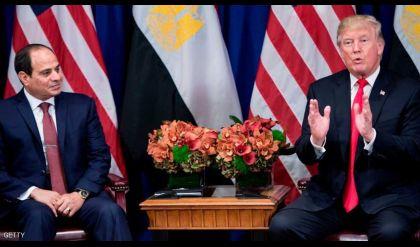 ترامب يدرس استئناف المساعدات العسكرية لمصر