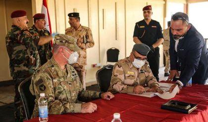 التحالف الدولي يسلم موقعاً للذخيرة إلى العراق