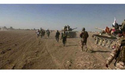 العمليات المشتركة تعلن مقتل 9 ارهابيين جنوب غربي الموصل
