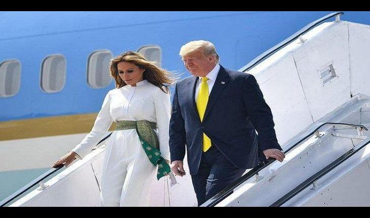 ترامب يصل الهند في زيارة رسمية لمدة يومين