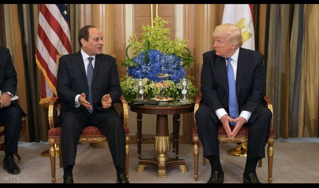 ترامب للسيسي: سأزور مصر قريبا