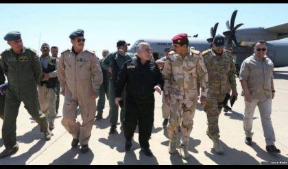 العبادي يتجول في ايمن الموصل