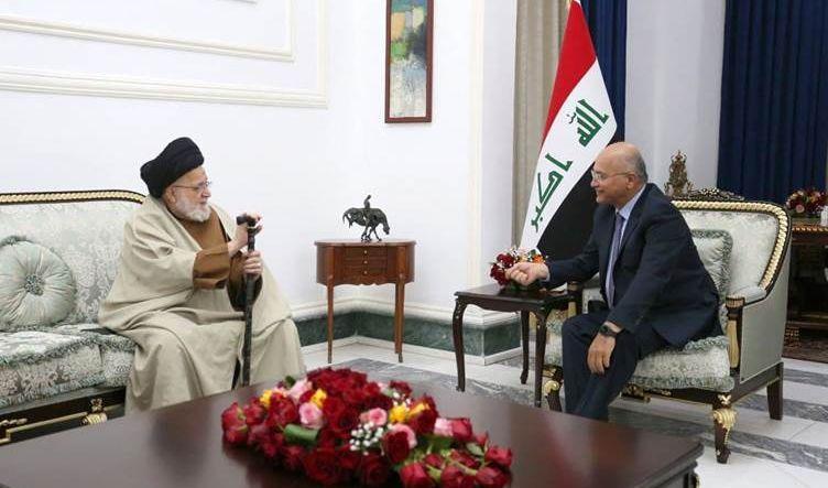 رئيس الجمهورية وحسين الصدر يؤكدان على ترسيخ سيادة القانون ودعم الإصلاحات