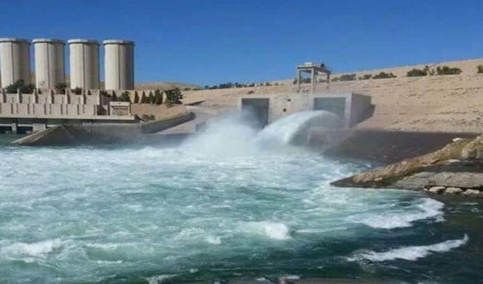 ارتفاع الخزين المائي في سد الموصل إلى 7.5 مليون متر مكعب