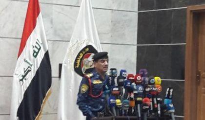 قائد الشرطة الاتحادية يعلن قرب استلام الملف الامني في بغداد
