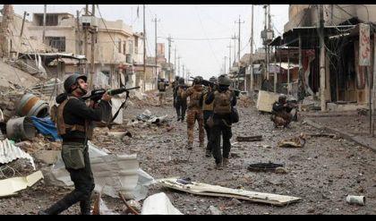 القوات العراقية تقاتل