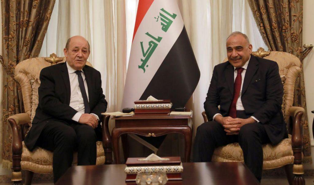 عبدالمهدي يقترح على فرنسا توأمة بين بغداد وباريس