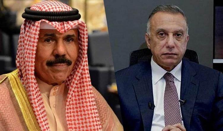 الكاظمي يدعو أمير الكويت لحضور مؤتمر دول الجوار العراقي في بغداد