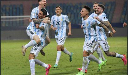 الأرجنتين يحقق فوزاً عظيماً