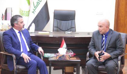 وزير العمل والشؤون الاجتماعية باسم عبد الزمان يؤكد من الموصل، دعمه لمطالب الاهالي في المدينة