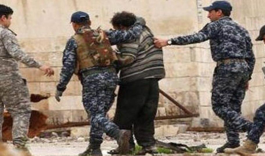 اعتقال داعشي متخفي في دار خاله بالموصل