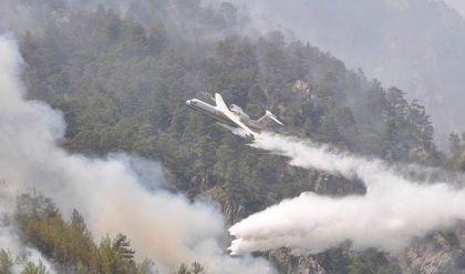 تركيا تواصل جهودها في إطفاء الحرائق بموغلا وأيدن