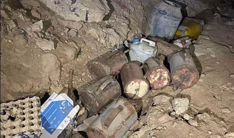 ضبط 700 كلغم من مادة C4 المتفجرة غربي بغداد