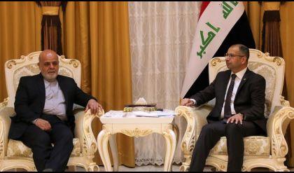 الجبوري يبحث مع السفير الايراني الجديد مكافحة الارهاب بما يحفظ سيادة البلدين