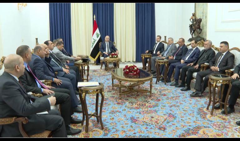رئيس الجمهورية يشدد على ضرورة ضبط النفس لحفظ الأمن والاستقرار