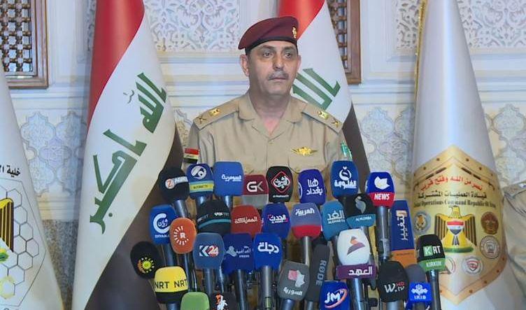رسول يعلن آخر مستجدات التنسيق بين القوات الاتحادية والبيشمركة