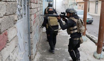 الشرطة الاتحادية تحبط محاولة تسلل عناصر داعش لمنطقة الدندان بايمن الموصل