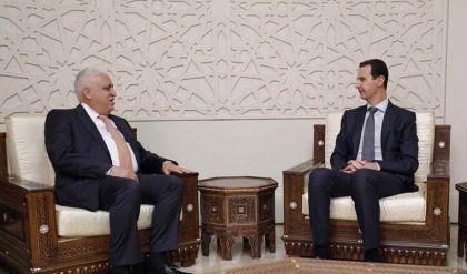 فالح الفياض يصل الى دمشق ويسلم الرئيس السوري رسالة من الكاظمي