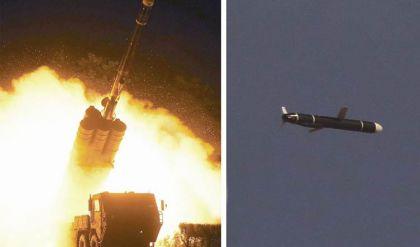 كوريا الشمالية تختبر صاروخاً جديداً طويل المدى من نوع