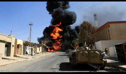 الجيش العراقي يعلن استعادة وسط تلعفر