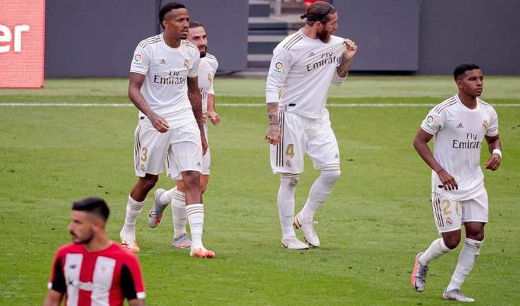 ريال مدريد يهزم بيلباو ويحلق بصدارة الليغا