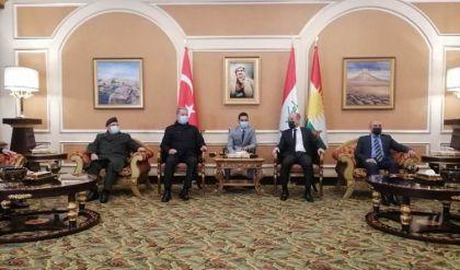 وزير الدفاع التركي يصل أربيل واجتماع مرتقب مع كبار مسؤولي إقليم كوردستان