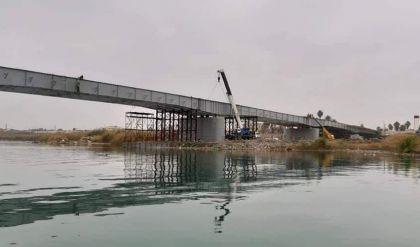 تحديد موعد إفتتاح جسر الموصل الثاني