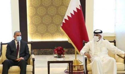 وزير الداخلية العراقي يبحث مع رئيس الوزراء القطري التعاون الأمني بين بغداد والدوحة