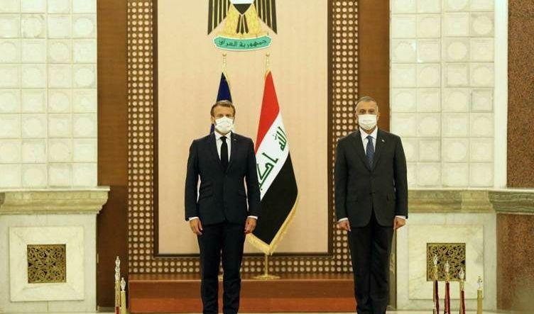 الكاظمي لماكرون: العراق ماض ببناء علاقات متزنة مع كل الشركاء الدوليين بعيداً عن سياسة المحاور