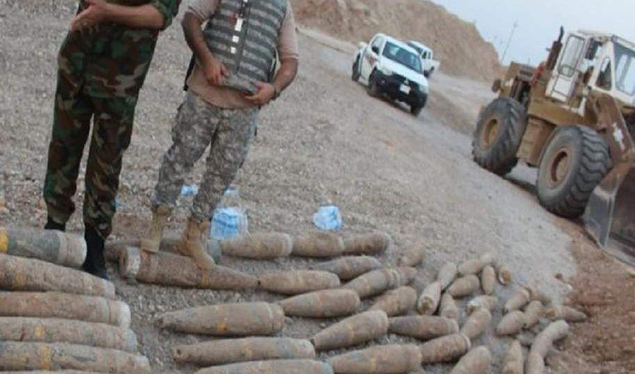 تدمير مضافة ونفقين وضبط عبوات ناسفة وأسلحة لداعش في نينوى