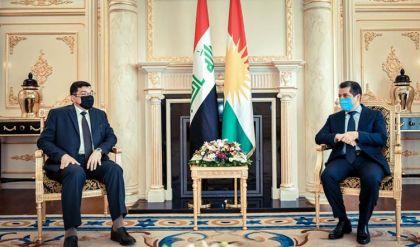 رئيس حكومة إقليم كوردستان ووزير الموارد المائية العراقي يبحثان جملة مسائل منها إنشاء سدود جديدة